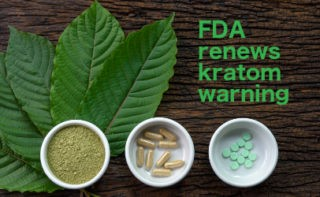 Kratom Warning graphic