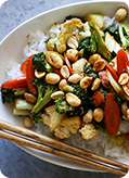 Spicy Peanut Stir Fry